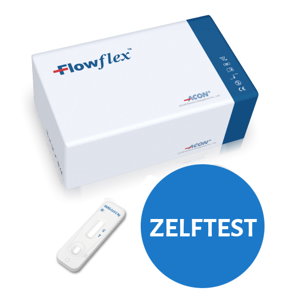 FlowFlex ondiepe corona sneltest 25 st € 195.00