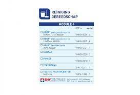 Navulling modulekoffer - module 4, reiniging en gereedschap € 16.35