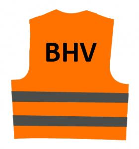 Veiligheidsvest BHV (oranje) € 8.60