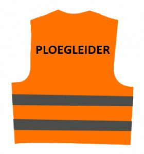 Veiligheidsvest PLOEGLEIDER (oranje) € 12.61