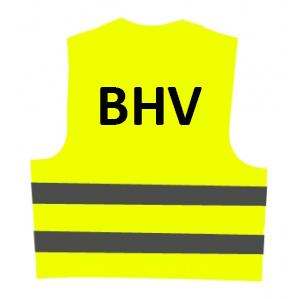 Veiligheidsvest BHV (geel) € 8.60