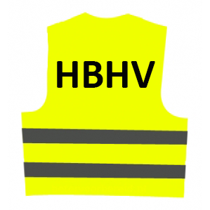 Veiligheidsvest HBHV (geel) € 12.61