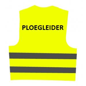 Veiligheidsvest PLOEGLEIDER (geel) € 12.61