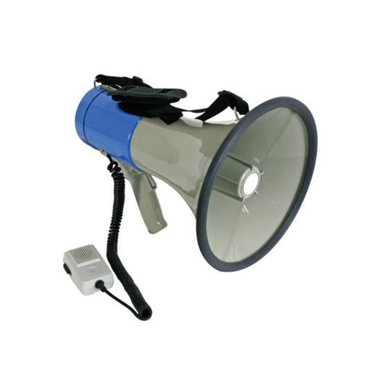 Megafoon 20 watt met sirene € 73.29