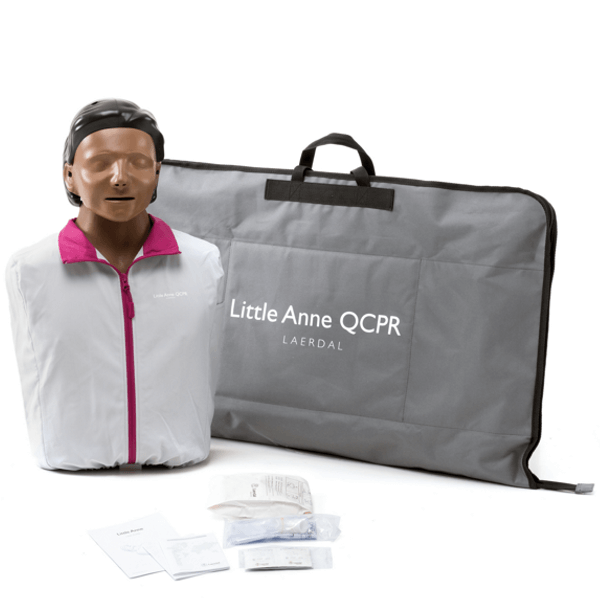 Laerdal Little Anne QCPR, donkere huid € 324.28