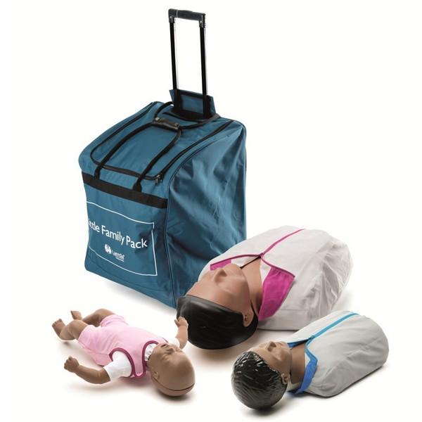 Laerdal Little Family Pack, donkere huid € 713.90