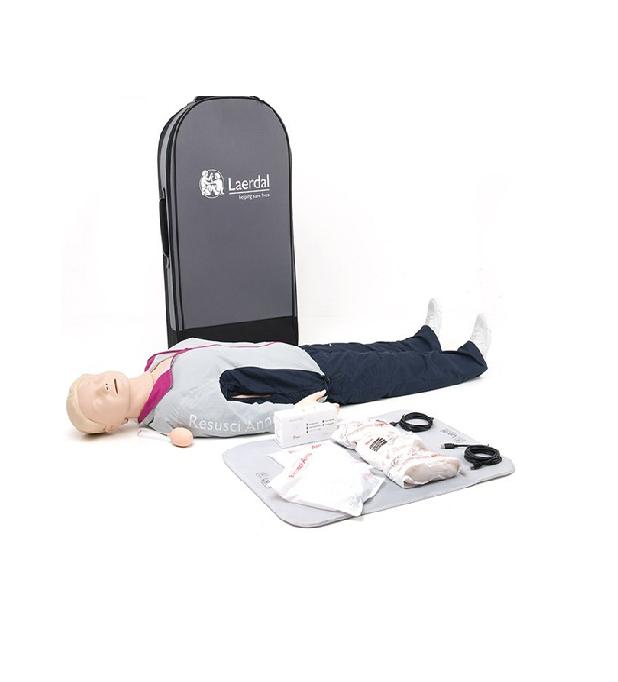 Laerdal Resusci Anne QCPR Full Body in koffer (nieuwe versie) € 2662.00