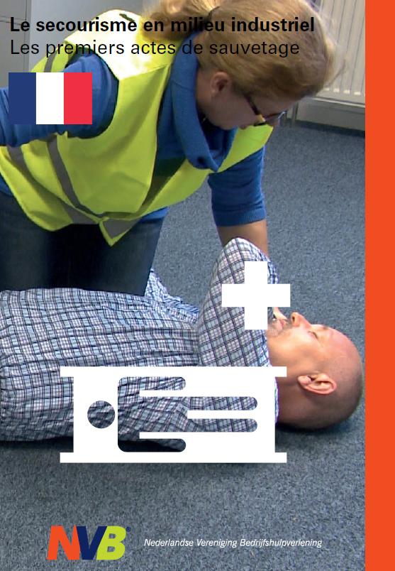 Bedrijfshulpverlener Levensreddende Eerste Handelingen Franstalig € 16.90