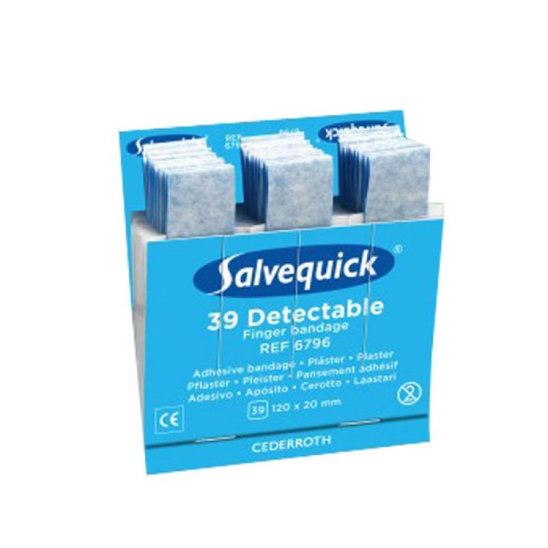 1x Salvequick 6796 navulling 30 blauwe 120 x 20 HACCP € 9.49