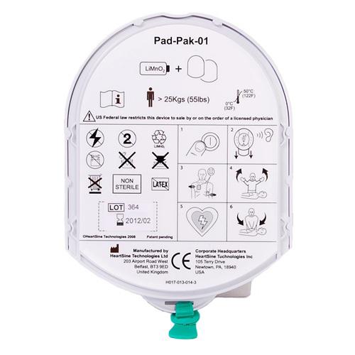 Heartsine Samaritan PAD-pack volwassen elektroden + batterij € 152.60