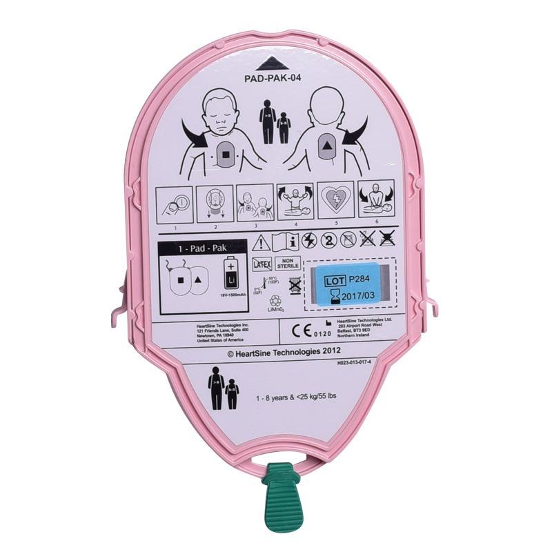 Heartsine Samaritan PAD-pack kinder elektroden + batterij € 174.40