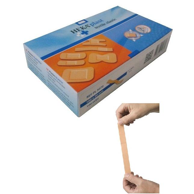 Lange vingerpleister elastic 180x20 mm € 9.30